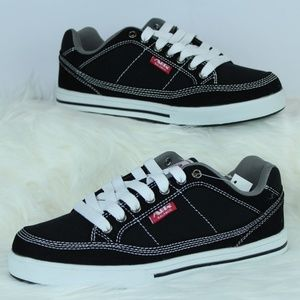 Air Balance Black and White Sneakers
